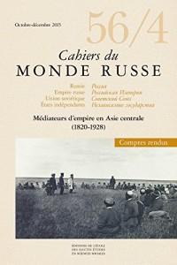 Cahiers du Monde Russe 56 4