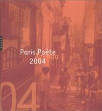 Agenda 2004 : Paris poète