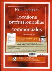 Kit de création pour locations professionnelles et commerciales
