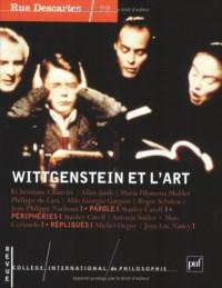 Rue Descartes, numéro 39 : 2003 - Wittgenstein et le paradigme de l'art