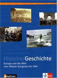 MANUEL HISTOIRE FRANCO-ALLEMAND 1RE VERSION ALLEMANDE + CD Livre scolaire