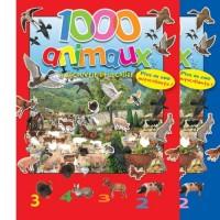 1000 animaux a découvrir et a coller