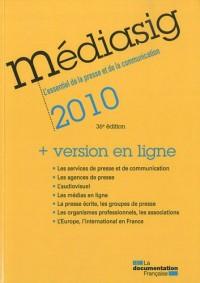 Médiasig 2010 + version en ligne