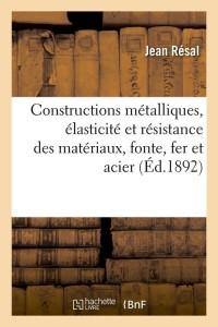 Constructions Metalliques  ed 1892