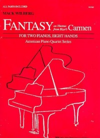 Mack Wilberg: Fantasy On Themes From Bizet's Carmen. Partitions pour Deux Pianos, Piano Duo