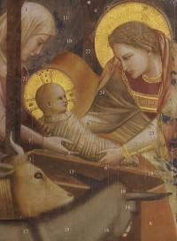 Calendrier de l'Avent Marie et l Enfant Jesus Giotto