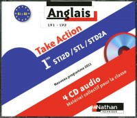 Take Action Première Sti2d/Stl/Std2a Lv1/Lv2 B1>B2 4 Ccd Audio 2011