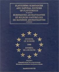 Substances aromatisantes et sources naturelles de matières aromatisantes (4 eme