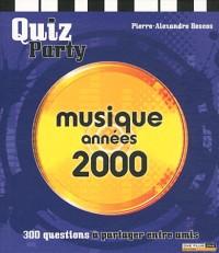 Quiz musique années 2000