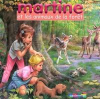 Martine et les Animaux de la forêt : Coffret livre avec un jeu de cubes en bois
