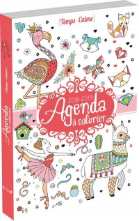Agenda à colorier 2018-2019