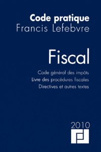 Code fiscal 2010