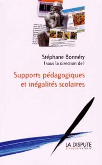 Supports pédagogiques et inégalités scolaires : études sociologiques