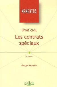 Les contrats spéciaux : Droit civil