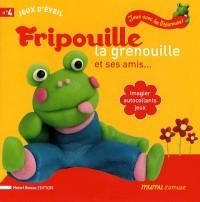 Fripouille la grenouille et ses amis... : Imagier, autocollants, jeux
