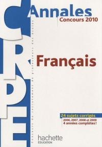 Français CRPE : Concours 2010