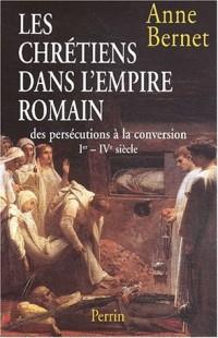 Histoire des persecutions romaines