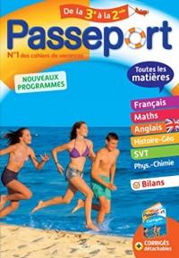 Passeport Toutes les matières - De la 3e à la 2de - Cahier de vacances
