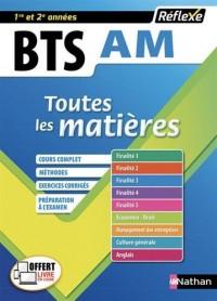Assistant de manager BTS AM 1re et 2e années : Toutes les matières