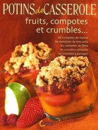 Fruits, compotes et crumbles...