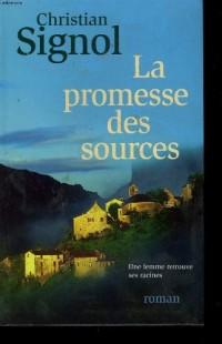 La promesse des sources