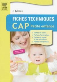 Fiches Techniques Cap Petite Enfance 5e