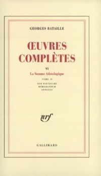 Oeuvres complètes, tome 6