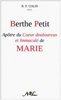 Berthe Petit Apotre du Coeur Douloureux et Immacule de Marie