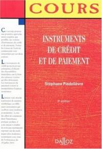 Instruments de crédit et de paiement