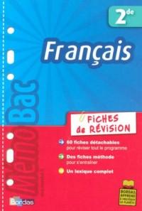 Français 2e : Fiches de révision