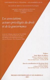 Les associations, acteurs privilégiés du droit et de la gouvernance