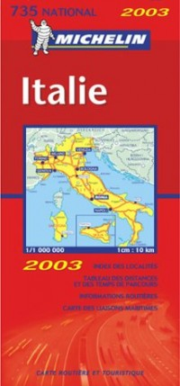 Carte routière : Italie, N° 11735