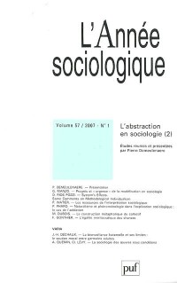 L'année sociologique, N° 1 :