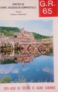 G.R. [Grande randonnée] 65 : Chemin de Saint-Jacques-de-Compostelle, Aveyron, 111 km d'Aubrac à Maontredon