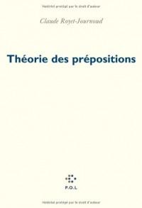 Théorie des prépositions