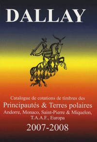 Timbres d'Andorre, Monaco, Terres Australes, Europa 2007-2008