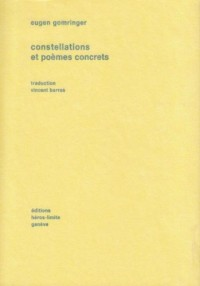 Constellations et Poemes Concrets