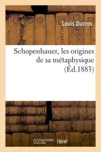 Schopenhauer  ed 1883