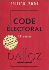Code électoral 2004