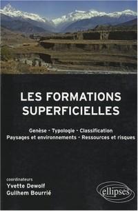 Les formations superficielles