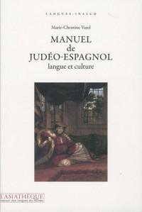 Manuel de judéo-espagnol, langue et culture + 1CD