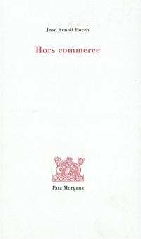 Hors commerce
