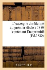 L Auvergne Chretienne  ed 1880