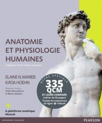 Anatomie et physiologie humaines + QCM & corrigés : Pack en 2 volumes