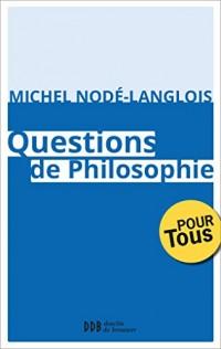 Questions de philosophie