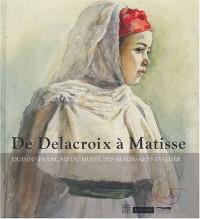 De Delacroix à Matisse, dessins français au musée des beaux-arts d'Alger