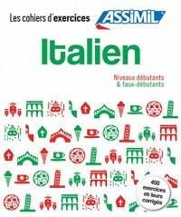 Coffret Cahiers Italien (débutants+faux débutants)