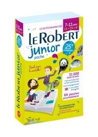 Dictionnaire Le Robert Junior Poche - 7/11 ans - CE-CM-6e - Édition anniversaire
