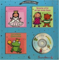 Mes premiers contes, coffret argent : Blanche neige; Boucle d'or et les trois ours; Le prince grenouille (1CD audio)