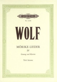 EDITION PETERS WOLF HUGO - MÖRIKE-LIEDER: 53 SONGS VOL.4 - VOICE AND PIANO Partition classique Vocale - chorale Choeur et ensemble vocal